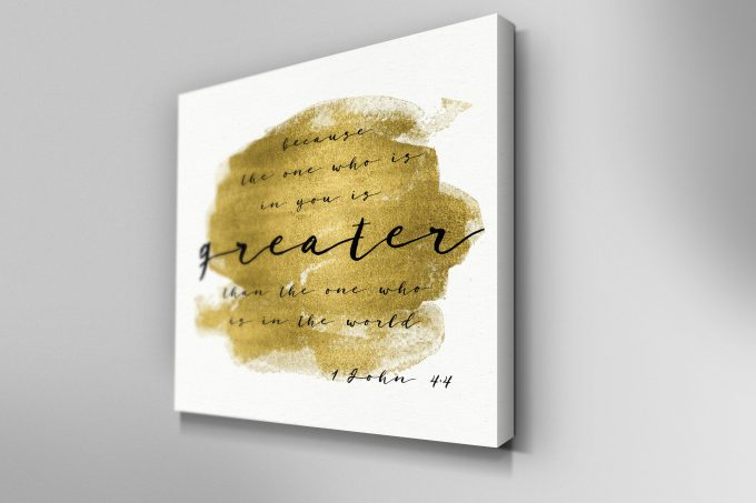 Greater Is The One Who Is In You